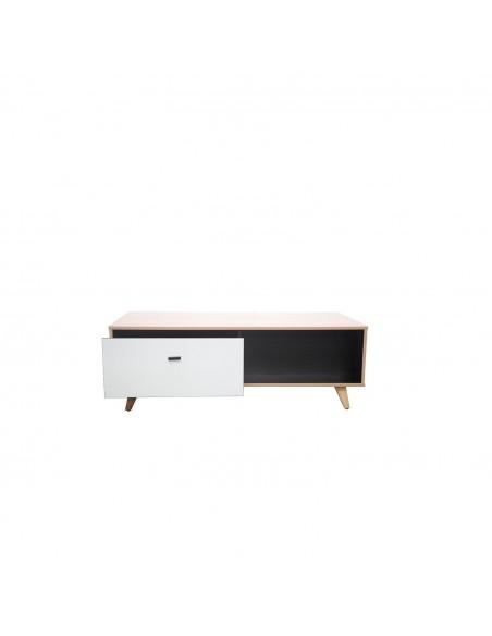 Table basse Louise en bois clair cosy