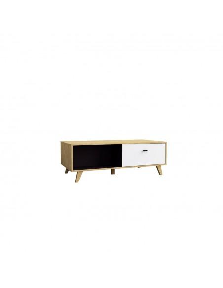 Table basse Louise en bois clair de qualité
