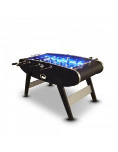 Baby-foot noir avec LED