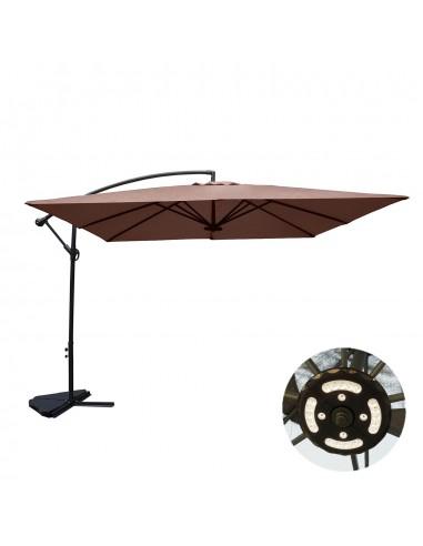 Solenzara à LED chocolat : Parasol à...