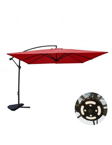 Solenzara à LED terracotta : Parasol...