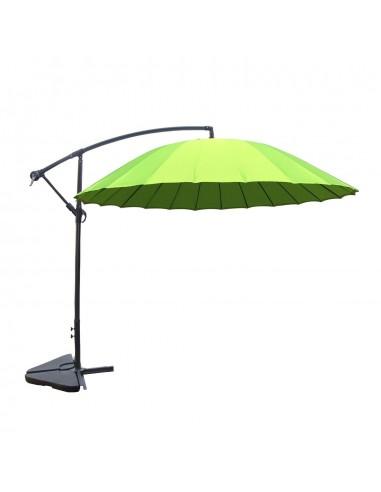 Shanghai vert : parasol déporté et...