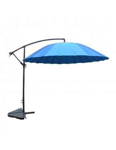 Shanghai bleu : parasol déporté et...
