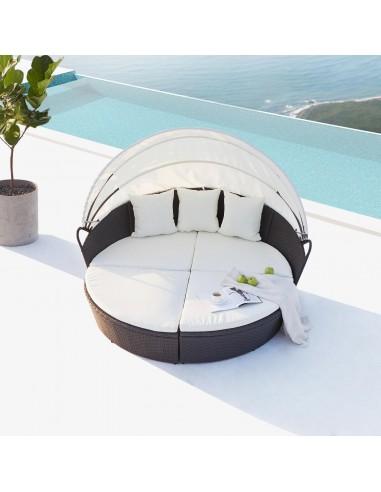 Cocoon : salon de jardin modulable...