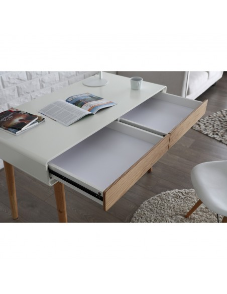 Bureau avec 2 tiroirs