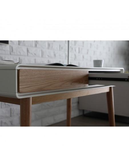 Bureau moderne avec 2 tiroirs